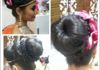 Perfect South Indian Bridal Hairstyles For Receptions – indian bridal bun hairstyles