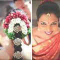 Perfect South Indian Bridal Hairstyles For Receptions – indian bridal hairstyle