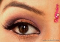 Pics For > Indian Girl Eye Makeup – bollywood makeup techniques