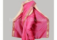 Pink Bollywood dance Saree – BellydanceDiscount