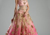 Pink Desi ballgown, indian bridal Pink Dress #2dayslook # ..