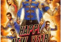 Poster Of Bollywood Movie Happy New Year (2014) 300MB ..