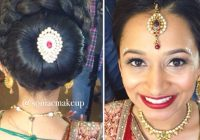 Punjabi Bridal Hairstyle For Round Face | Fade Haircut – indian bridal hairstyle for round face