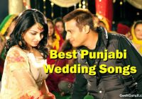 Punjabi Wedding Songs List (Top 100 Punjabi wedding dance ..