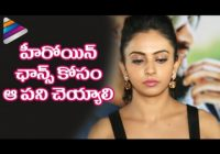 Rakul Preet Opens Up about Casting Couch in Tollywood ..