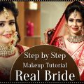 Real Bride Make Up | Step By Step Indian Asian Bridal ..