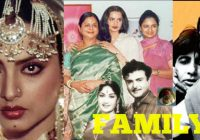 Rekha Family with Parents, Sisters, Husband and Boyfriends ..