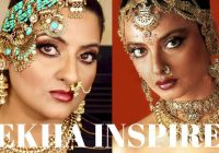 Rekha Inspired Old Bollywood Makeup Tutorial I Perfect for ..