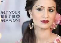 Retro Bollywood Glam | Glamrs Makeup with Pallavi Symons ..