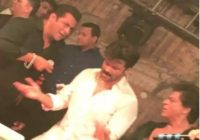 Salman Khan Sung Song In Sonam Kapoor Wedding Reception ..