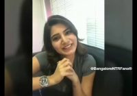 Samantha Says Jr NTR is Best Dancer In Tollywood.