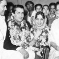 Shammi Kapoor married Geeta Bali at Banganga Temples (1955 – old wedding songs bollywood