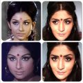 Sharmila Tagore inspired Retro 60's Makeup tutorial – YouTube – retro bollywood makeup