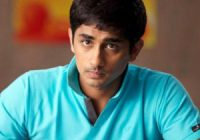 Siddharth stops signing Commercial Movies | Siddharth ..