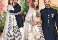 Sonam Kapoor wedding reception Bollywood stars Ambani ..