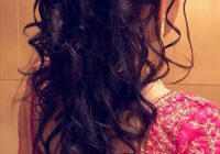 South Indian bridal hairstyle for reception. Hairstyle by ..