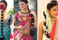 South Indian Bridal Hairstyles For Reception Videos | Fade ..
