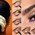 South Indian Bridal Makeup and Hairstyle Tutorial |Simple ..