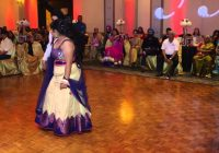 Story Told Through Bollywood Dance At Wedding Reception ..