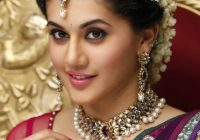 Taapsee Pannu telugu Actress beautiful red saree hd pics ..