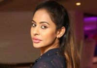 Telegu actress Sri Reddy who striped to protest against ..