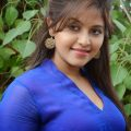 Telugu Actress Anjali hot romantic in blue… so cute and ..