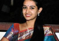 Telugu actress Laya Gorty injured in a car accident ..