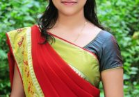 Telugu Actress Sri Divya in Saree Photo Gallery ..