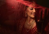 The significance of colour red and Indian Brides – Ayoti-Blog – indian bridal ghunghat