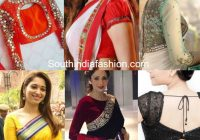 These Blouse Designs Will Give Your Saree A Stylish Twist ..