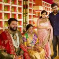 Tollywood actors at a big fat wedding event photos – tollywood actors wedding photos