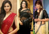 Tollywood Actress Hot Transparent Saree Photos – tollywood heroines saree images