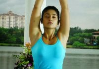 Tollywood Actress illeana Yoga Hot Stills – tollywood yoga