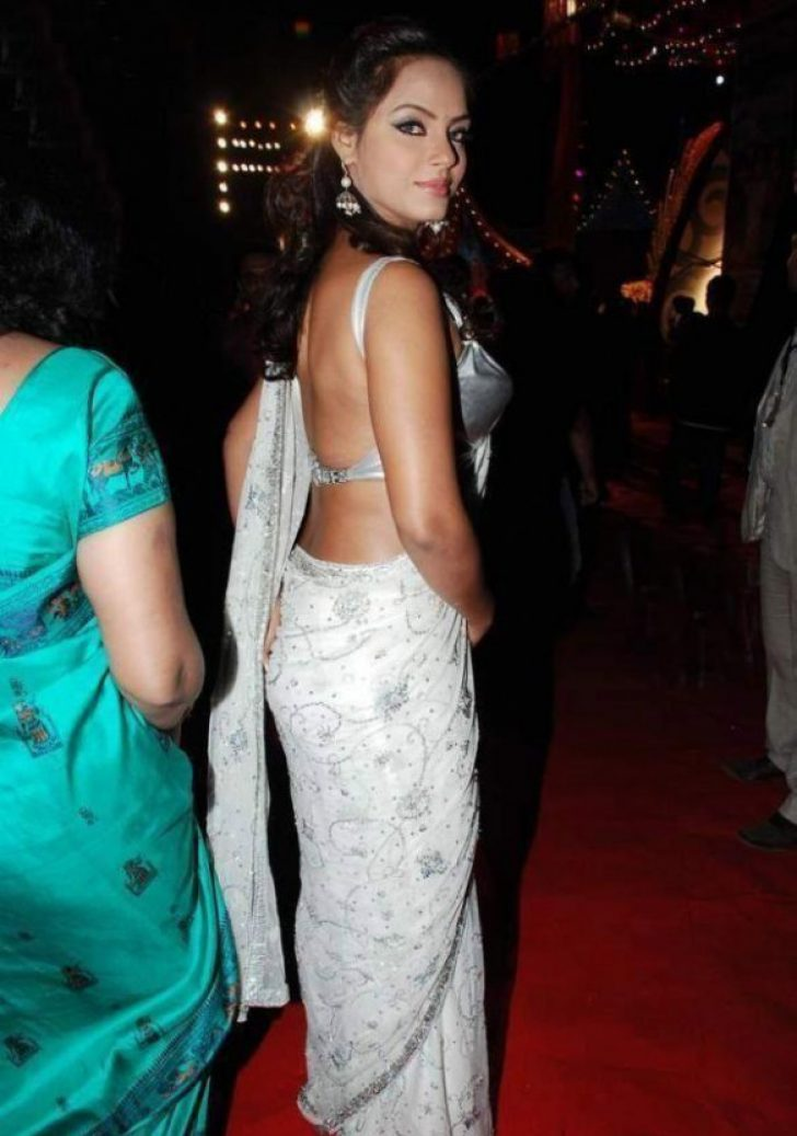 Permalink to Tollywood Actress In White Saree