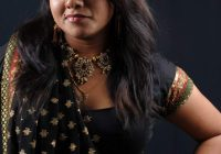 Tollywood Actress Jyothi Hot in Black Saree blouse Photos ..