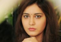 Tollywood Actress Rashi Khanna Face Close up Stills ..