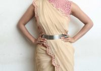 Tollywood Actress Stills In Designer Pink Saree Samantha ..
