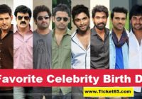 Tollywood Celebrities Birthdays List, List of Tollywood ..