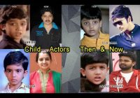Tollywood Child actors then  – present child actors in tollywood