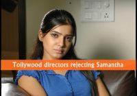 Tollywood directors rejecting Samantha – directors of tollywood