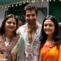 tollywood hot picture: koyel-mullick-jeet-wife-durga-puja-2011 – tollywood actor jeet marriage photos