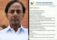 Tollywood Industry Love Letter To KCR – Telugu Bullet – tollywood industry