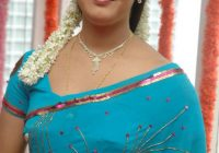 Tollywood Jyothi Krishna in Blue Saree Photo Gallery ..
