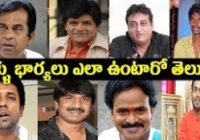 Tollywood Popular Comedians and Their Wives real life ..