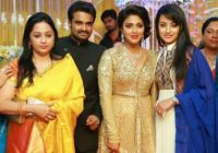 Tollywood Stars' Galore At Amala Paul's Wedding Reception ..