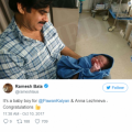 Tollywood Superstar Pawan Kalyan has blessed with baby boy ..