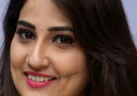 Tollywood TV Actress Manjusha Long Hair Face Close Up ..