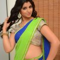 Tollywood Tv Anchor Shyamala In Green Half Saree At ..