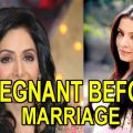 Top 10 Famous Bollywood Actresses who got Pregnant Before ..
