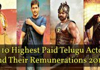 Top 10 Highest Paid Actors in Tollywood 2018 Top ..